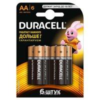 Фото Duracell AA bat Alkaline 6шт Basic 81485016