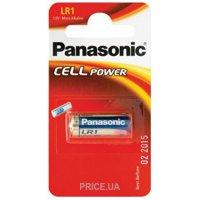 Фото Panasonic LR1 bat(1.5B) Alkaline 1шт (LR1L/1BE)