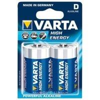 Фото Varta D bat Alkaline 2шт HIGH ENERGY (04920121412)