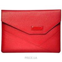 "Фото Issa Hara Leather Case for MacBook 13"" Red (MC13_15)"