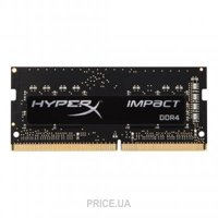 Сравнить цены на Kingston 8GB SO-DIMM DDR4 2400MHz HyperX Impact (HX424S14IB2/8)