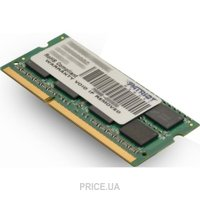 Фото Patriot 8GB SO-DIMM DDR3 1333MHz (PSD38G13332S)