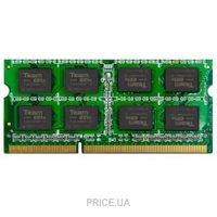 Фото TEAM 2GB SO-DIMM DDR3 1333MHz (TED32GM1333C9-S01)