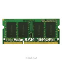 Фото Kingston 4GB SO-DIMM DDR3 1600MHz (KVR16S11S8/4)
