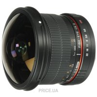 Фото Samyang 8mm f/3.5 AS IF UMC Fish-eye CS II Canon EF