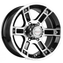Racing Wheels H-468 (R15 W7.0 PCD6x139.7 ET0 DIA110.5)