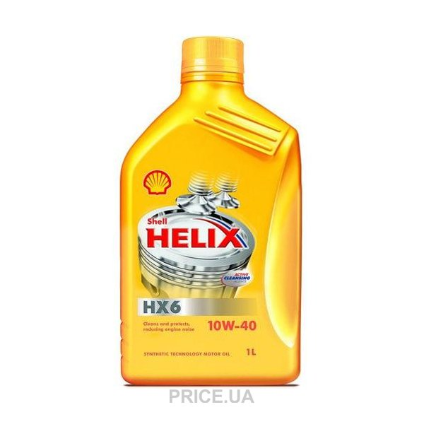 Масло Shell Helix 10W 40