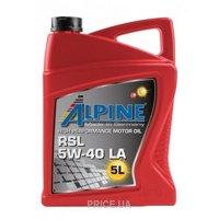 Фото Alpine RSL 5W-40 5л