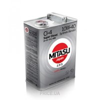 Фото Mitasu Super Diesel CI4 10w-40 4л