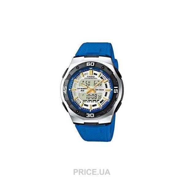 Casio Часы AQ-180W-1B. Коллекция Ana-Digi