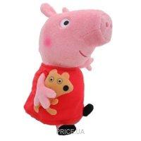 Фото Peppa Pig Пеппа с игрушкой 40 см (31157)