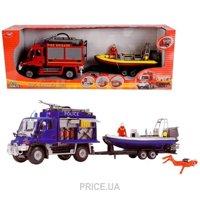 Фото Dickie Toys Трейлер с лодкой (3314867)