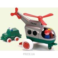 Фото Viking Toys Полицейский вертолет с фигурками и машинкой 30 см (1273)
