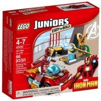 Фото LEGO Juniors 10721 Железный человек против Локи
