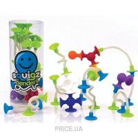 Фото Fat Brain Toys Squigz Benders (FA098-1) 18 деталей