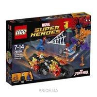 Фото LEGO Super Heroes 76058 Призрачный гонщик собирает команду