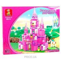 Фото SLUBAN Розовая мечта M38-B0152 Замок принцессы