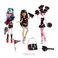 Фото Mattel Набор из 3 кукол Чирлидеры (V7966)