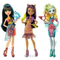 Фото Mattel Monster High Dance Шальная вечеринка, 27 см (в ассорт.) (DNX18)