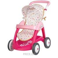 Фото SMOBY Прогулочная коляска с корзиной Baby Nurse (251023)