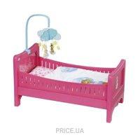 Фото Zapf Creation Интерактивная кроватка Baby Born Радужные Сны (822289)