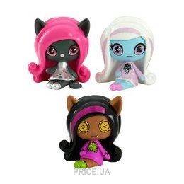 Фото Mattel Monster High Набор из 3-х мини-монстров (DVF41)