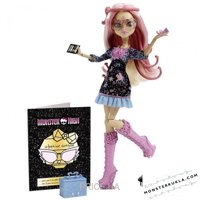 Фото Mattel Monster High Вайперин Горгон, серия Страх! Камера! Мотор! (BDD85)