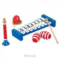 Фото Bino Набор музыкальных инструментов 6 деталей (86587)