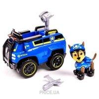 Фото Spin Master Щенячий патруль: спасательный автомобиль и гонщик-тайный агент (SM16601-9)