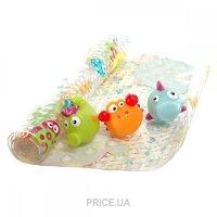 Фото Baby Team Набор коврик в ванную и 3 игрушки (7410)