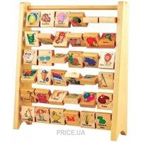 Фото Мир деревянных игрушек Счеты-Алфавит (Д248)