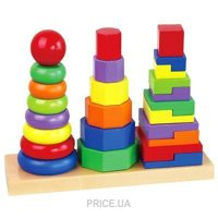 Фото Viga Toys Пирамидка (50567)