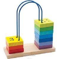 Фото Мир деревянных игрушек Счеты перекидные 5 (Д372)