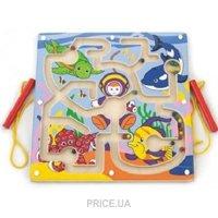 Фото Viga Toys Доска-лабиринт Подводный мир (50123)