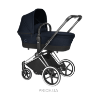 Фото Cybex Priam Carry Cot Midnight Blue-navy blue
