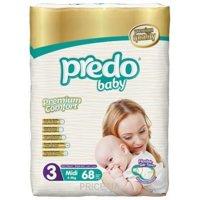 Фото PREDO BABY Premium Comfort Midi 3 (68 шт)