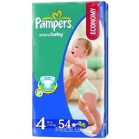 Фото Pampers Active Baby Maxi 4 (54 шт.)