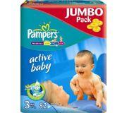 Фото Pampers Active Baby Midi 3 (82 шт.)