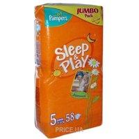 Фото Pampers Sleep&Play Junior 5 (58 шт.)