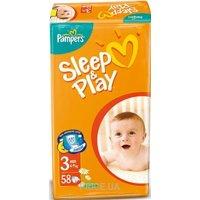 Фото Pampers Sleep&Play Midi 3 (58 шт.)