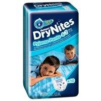 Фото Huggies DryNites для мальчиков 4-7 лет 17-30 кг (10 шт.)