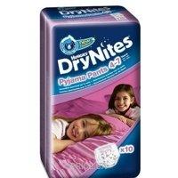 Фото Huggies DryNites для девочек 4-7 лет 17-30 кг (10 шт.)