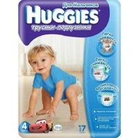 Фото Huggies Трусики для мальчиков 4 (17 шт.)