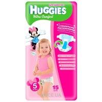 Фото Huggies Ultra Comfort для девочек 5 (15 шт.)