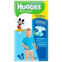 Фото Huggies Ultra Comfort для мальчиков 5 (56 шт.)