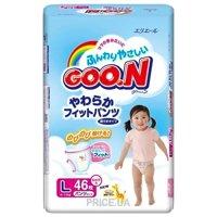 Фото Goo.N Подгузники-трусики для девочек L 9-14 кг (46 шт.)