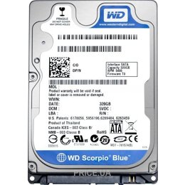 Western Digital WD2500BPVT