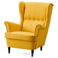 Фото IKEA STRANDMON Кресло с подголовником (303.004.36)