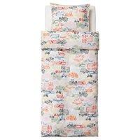 Фото IKEA 002.643.31 LJUDLIG Комплект постельного белья, разноцветные