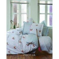 Фото Karaca Home ALISSE зеленый двуспальный Евро